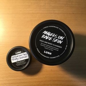 BRAND NEW LUSH ANGELS ON BARE SKIN CLEANSER